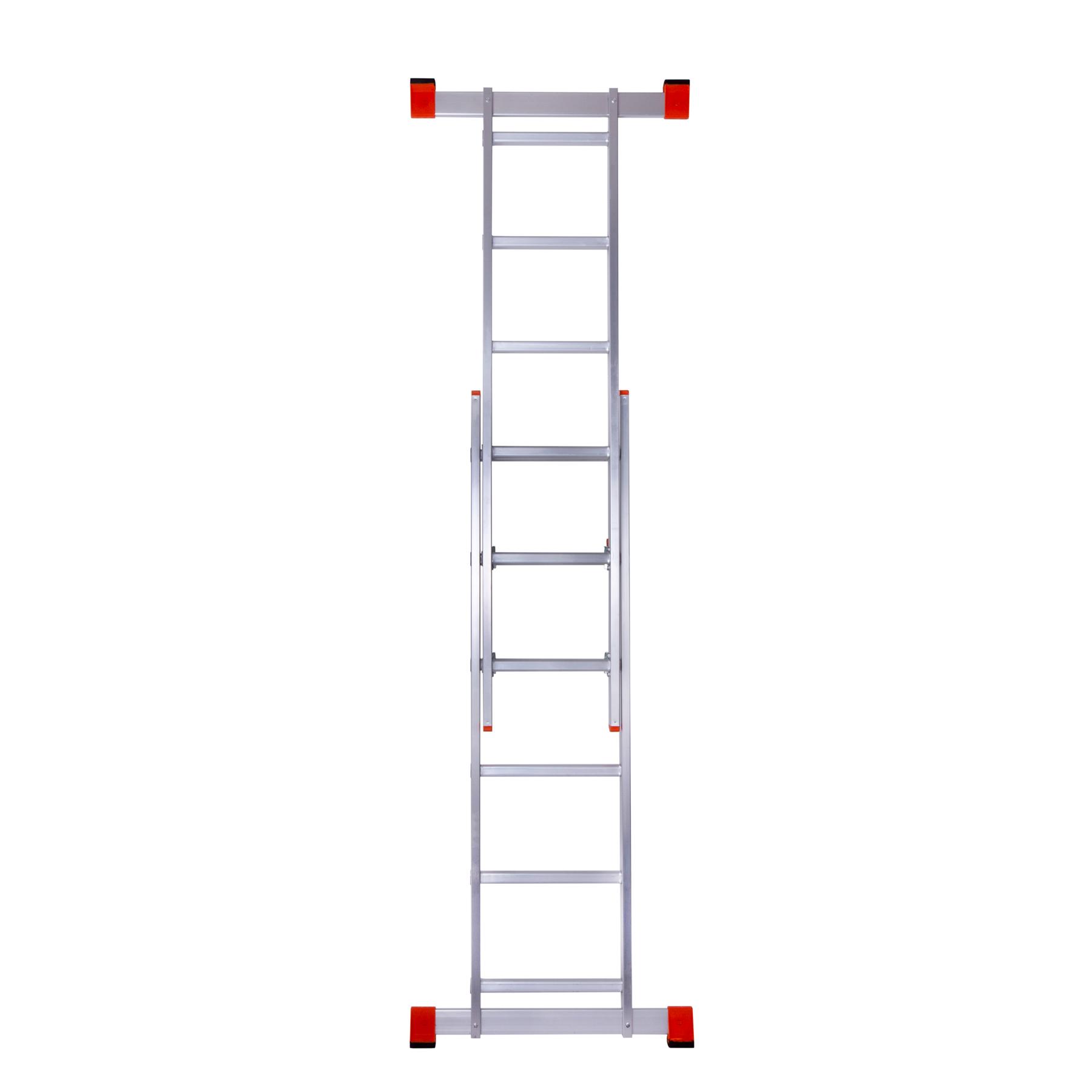 Использование лестницы помоста в качестве приставной