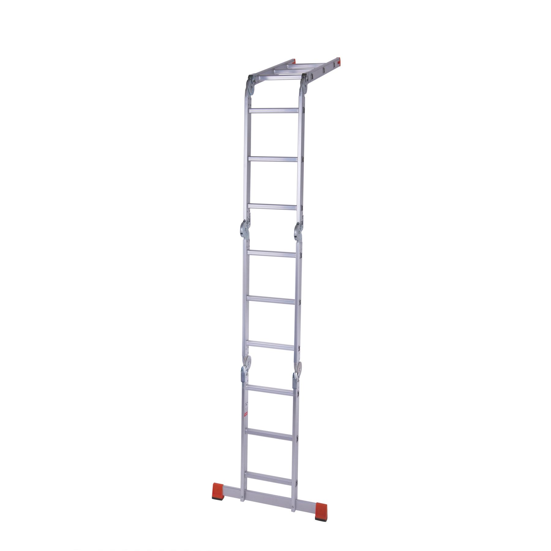 Лестница шарнирная алюминиевая