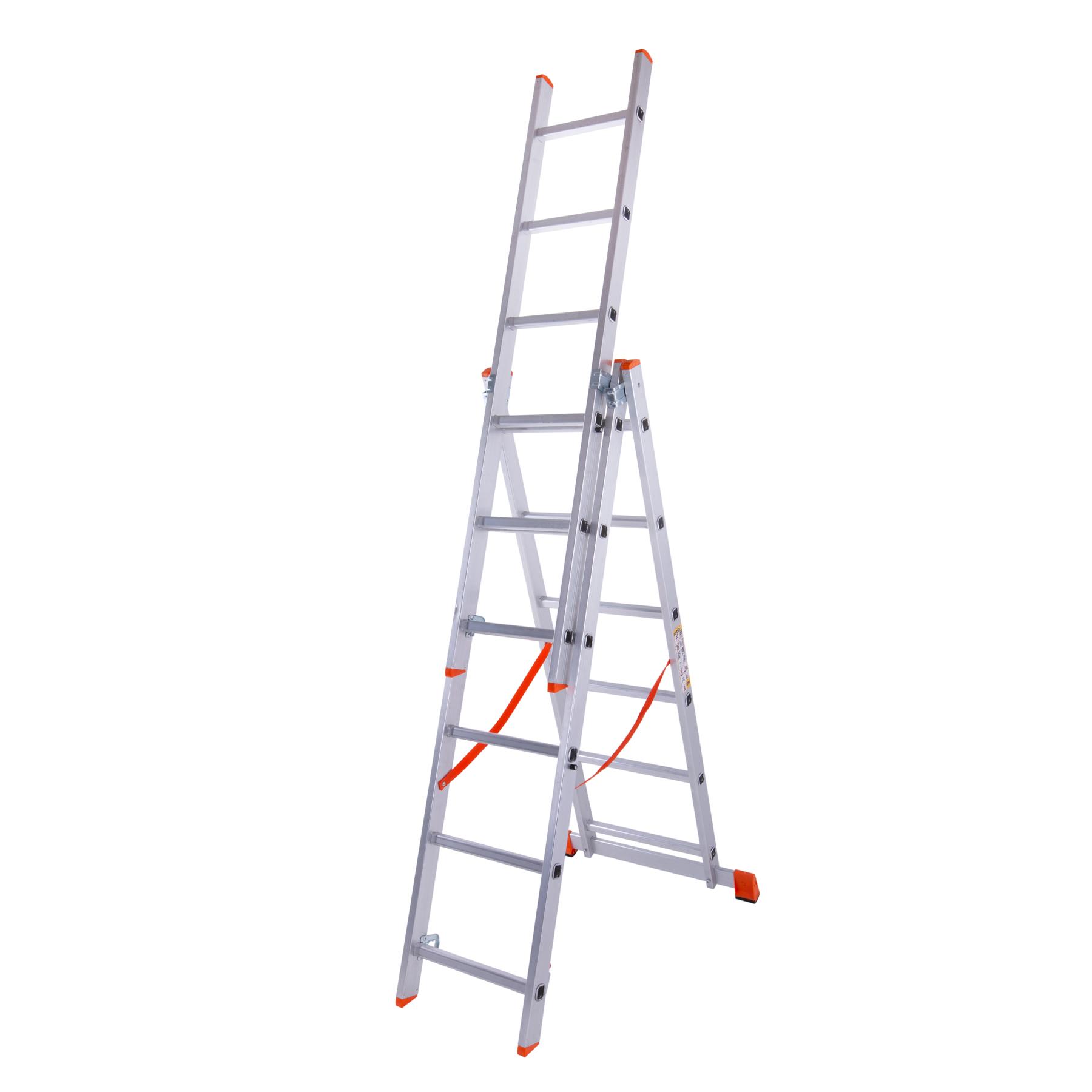 Лестница трехсекционная 3x6 ступенек