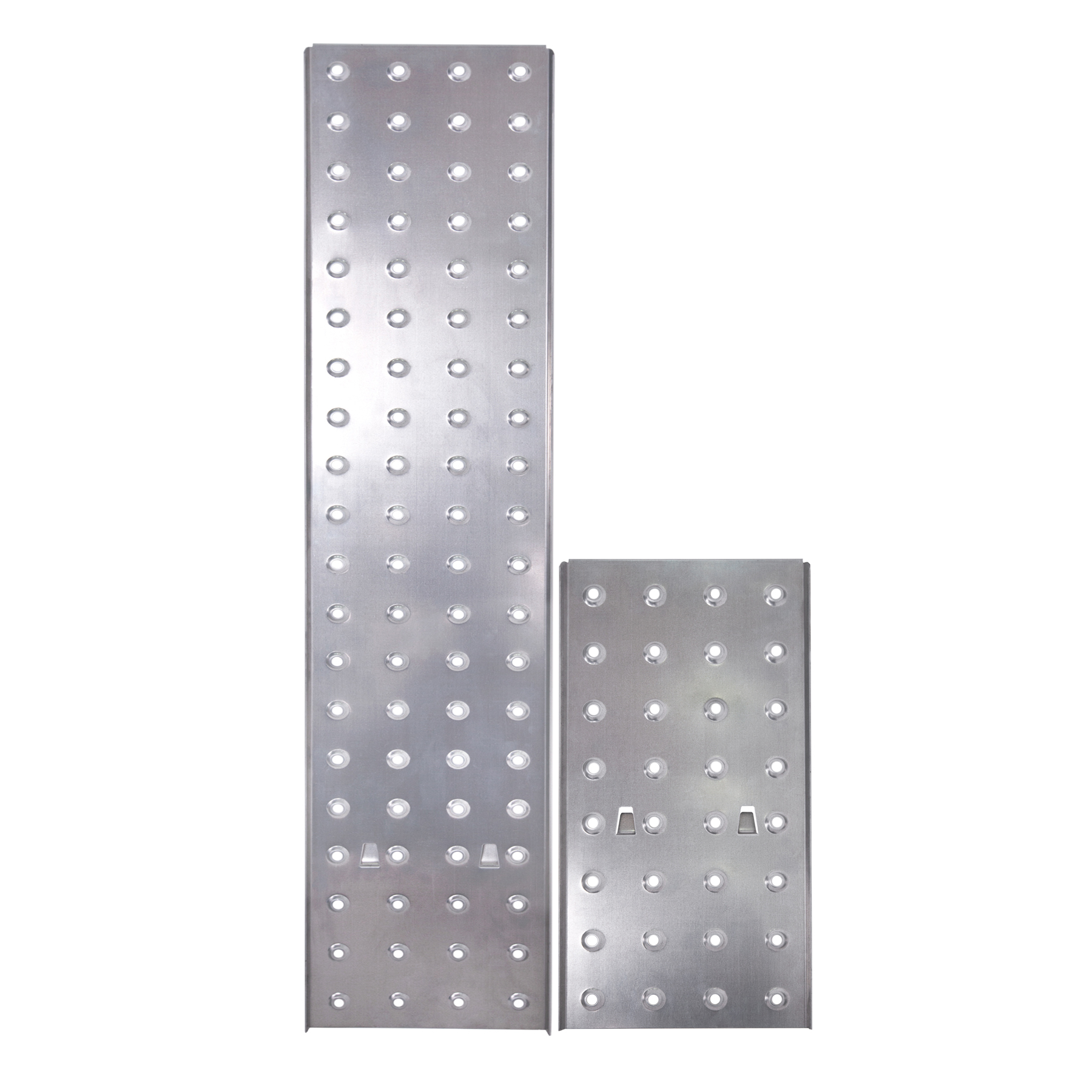 Платформа стальная для шарнирной лестницы на 4 ступеньки