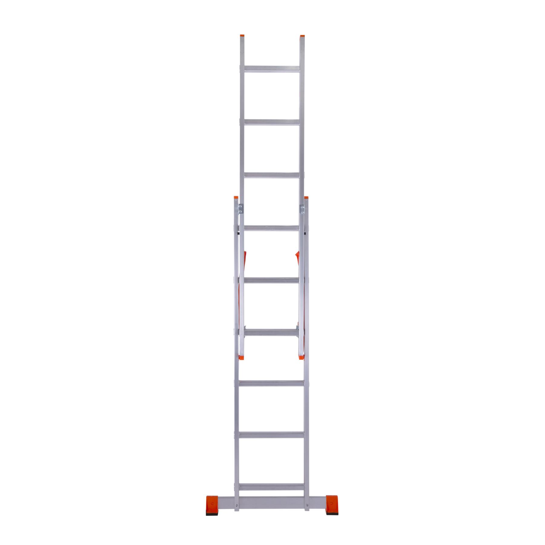 приставная двухсекционная лестница